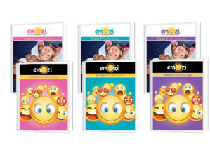 Covers of the Teacher and Student Guides for Emozi™ grades 6,7,8